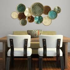 stratton home decor multi metal plate wall decor