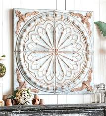 tin wall decor cool excellent idea vintage decorative panels stars decorating design galvanized flower
