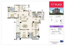 4bhk home office puja servant quarter