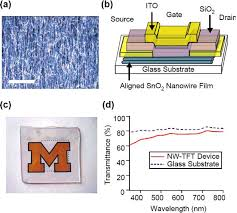 semiconducting oxide nanowires growth doping and device a dark field optical microscope image of a sno2 nanowires films obtained through the