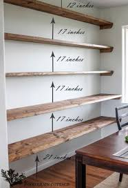 How To Make Floating Shelves From Scratch Adorable 32 Impressive DIY Shelves For Storage Style Home Pinterest