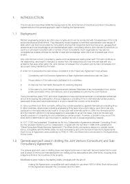Consulting Agreement In Pdf Guide To The Joint Venture And SubConsultancy Agreements 24st Ed 7