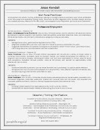 Sample Resume For Family Nurse Practitioner Luxury Family Nurse