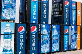 Bottled Water Vending Machine Extraordinary Fort Wayne Circa April 48 Pepsi And PepsiCo Vending Machines