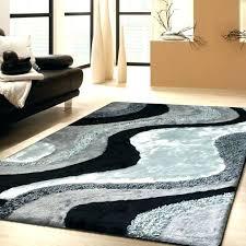 astonishing furry area rugs black faux