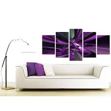 display gallery item 3 back display gallery item 4  on pictures wall art uk with extra large purple abstract canvas prints uk 5 piece
