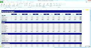 Excel Spreadsheet For Home Budget New Financial Excel Budget