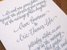 Calligraphy Fonts For Wedding Invitations Images Party