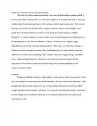 deresiewicz summary analysis response essay essay similar essays