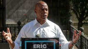 Former police officer Eric Adams wins ...