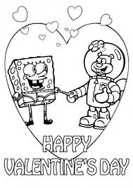 Small Picture Coloring Pages Spongebob And Sandy Cartoon Coloring pages of