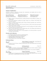 Construction Cost Estimator Sample Resume Resume Word Document