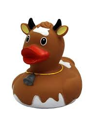 "Игрушка для ванной ""<b>Уточка</b> корова коричневая"" <b>Funny ducks</b> ..."