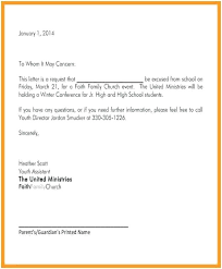 School Absent Note New Absence Template Excused Notes For Letter