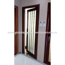 china latest design china double tempered glass doors