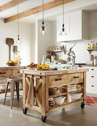 Great rustic lodge style kitchen ideas  Pottery Barn ...