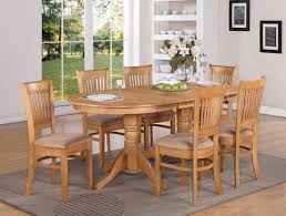 oval walnut dining table and 6 chairs tables extending room with awesome image of decoration new