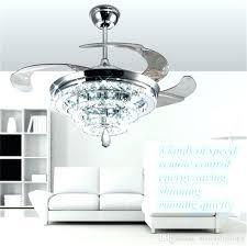 chandelier fans crystal ceiling fan light kit