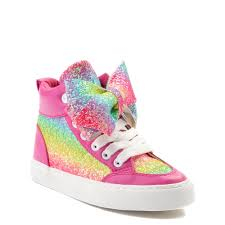Jojo Siwa Glitter Bow Hi Sneaker Little Kid Big Kid