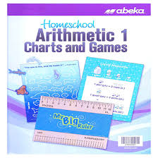 Abeka Math 1 Charts Games Second Harvest Curriculum