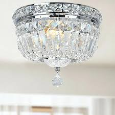 lighting design ideas small semi flush mount crystal for popular crystal flush mount light lighting design intrigue crystal semi flush mount