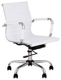White Leather Office Chair Ikea Interesting Modern White Office Chairs Of Furniture Vintage Leather Swivel Chair And Design Ikea