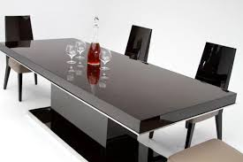 Industrial Extending Dining Table Black Lacquer Dining Table Trend Dining Room Tables For Industrial