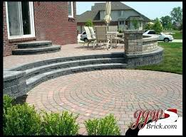 brick paver fire pit brick patio cost stone patio fire pit elegant brick patio mi backyard of luxury stone brick patio cost calculator average per
