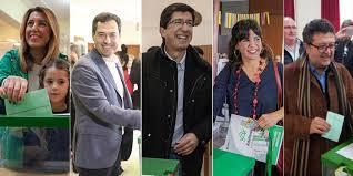 Resultado de imagen de elecciones andaluzas, el comercio