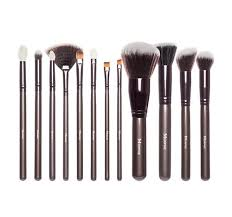 face brushes. set 503 - 12 piece beautiful and bronze face brushes