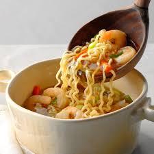 Asian Ramen Shrimp Soup Recipe