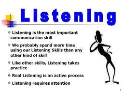 listening skills listening