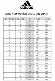 adidas sizing chart size chart adidas shoes vip plaza