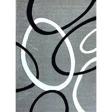 grey and white circle rug modern gray circles free today x