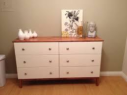 ikea tarva dresser hack faux linen. Contemporary Linen Painted Tarva 6 Drawer Dresser With Ikea Hack Faux Linen I