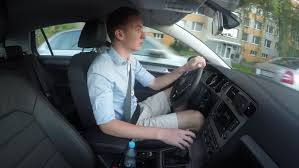 Royalty-free 100 Video Handsome Drives Stock Young Carefully Shutterstock 13383515 Man Footage