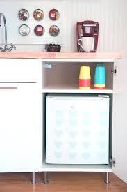 Mini Fridge Cabinet Diy Build An Kitchen For Under Diy Mini Fridge Cabinet Y28