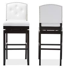 52 Types Of Counter Bar Stools Buying Guide With White Leather ...