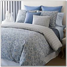 blue paisley nicole miller bedding for bedroom decoration ideas
