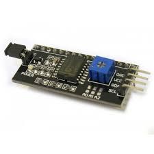 Rectangle LED I2C Module for 16/2 (<b>1602</b>) <b>Character LCD</b>, Rs 60 ...