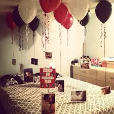 birthday room decoration for her