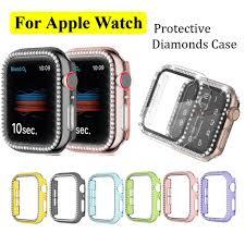 Ốp Bảo Vệ Mặt Đồng Hồ Thông Minh Apple Watch Iwatch Series 6 / 5 / 4 / 3 /  2 / 1 giảm tiếp 47,057đ