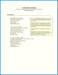 Resume Reference List Resume Reference Page Template Resume Professional References Proper 23