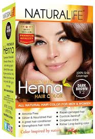 Naturalife Premium Dark Brown Henna Powder