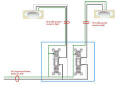 two pole switch wiring diagram two single pole switch wiring 2 pole wiring diagram 2 home wiring diagrams two pole switch
