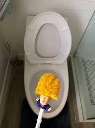 Best Way To Clean Bathroom Enchanting Donald TrumpOriginal Trump Toilet Brush Make Toilet Great Etsy