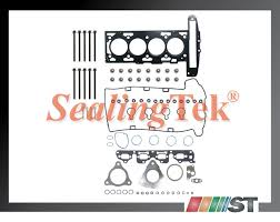 2002 06 gm 2 2l dohc ecotec head gasket set bolts kit z22se gm 2 2l 134ci 2198cc dohc l4 16 valve ecotec z22se l61 l42 86 0mm bore vin codes 6 d f 8th digit of vin 2002 2006