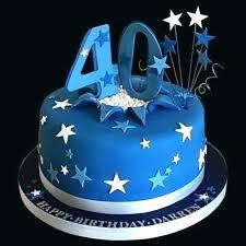 40th Birthday Cakes Man Cake Company Designs For Men Babyplanet