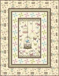 Using fabric panels in quilt patterns & LetsTweet Adamdwight.com