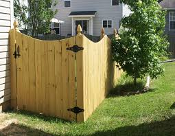 wood privacy fences. 106 Gated Wooden Fence - Big Jerry\u0027s Fencing NC FL Wood Privacy Fences